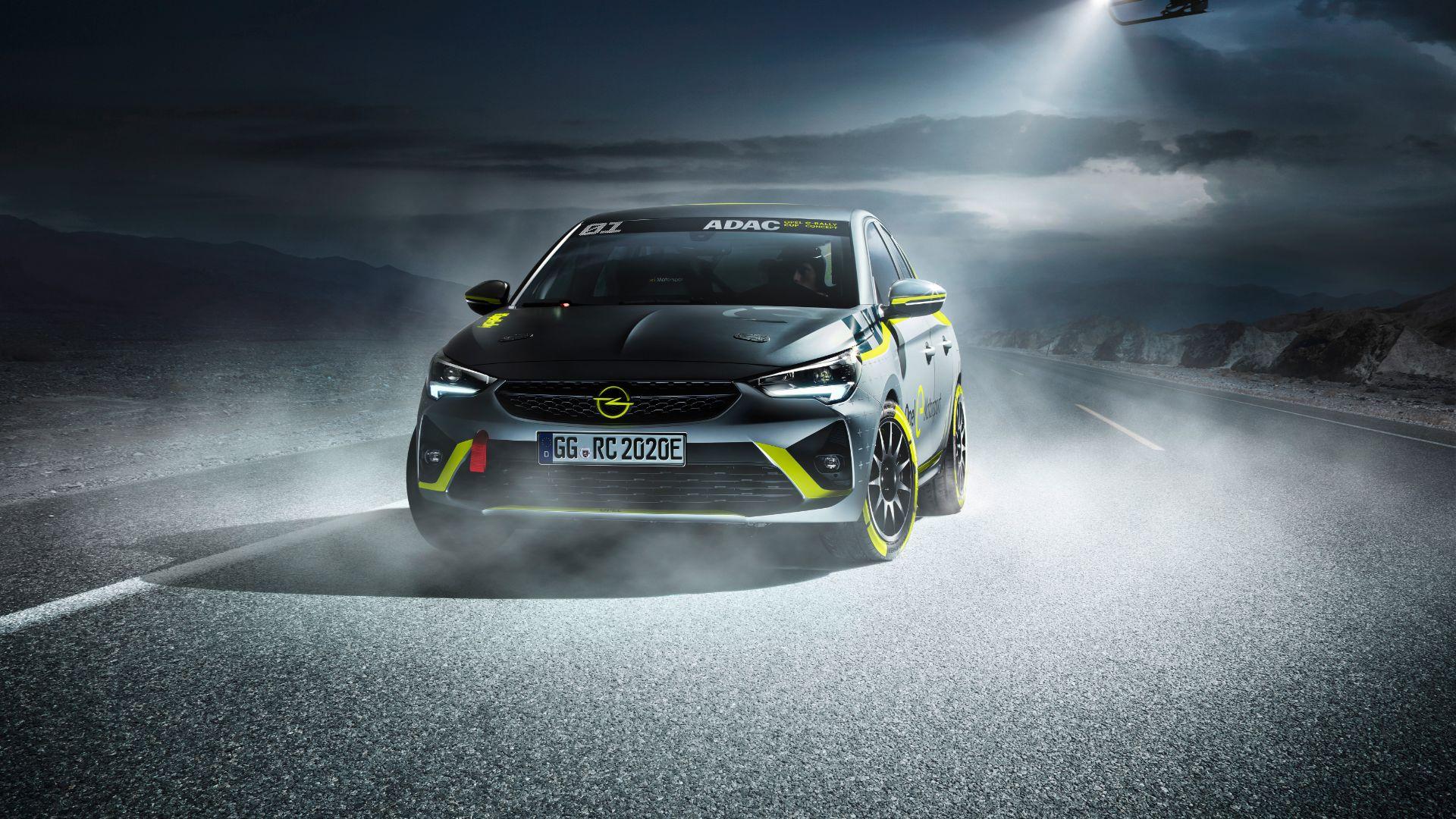 Corsa-E Rally racer debut at Frankfurt