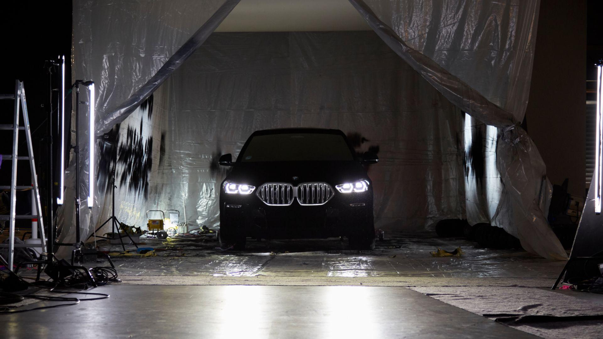 Vantablack BMW X6 is the world's blackest car