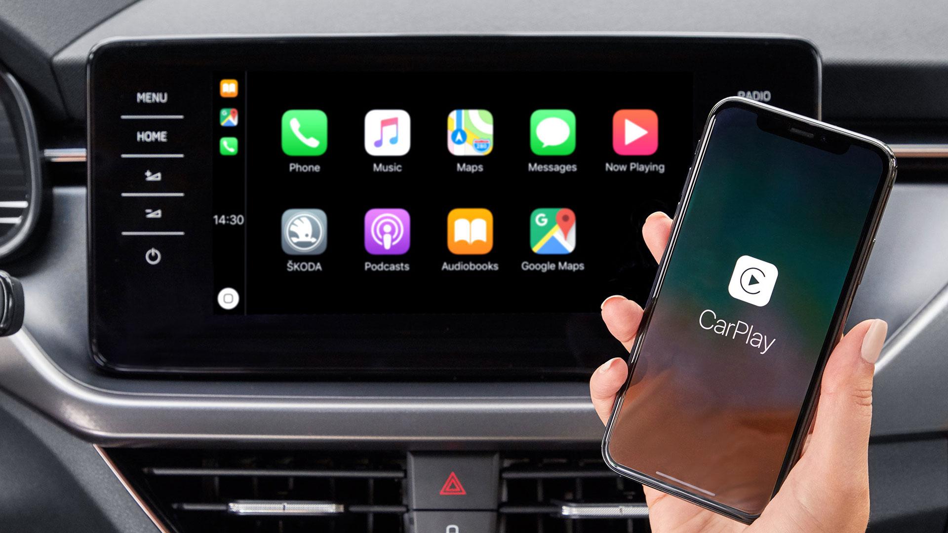 Skoda Kamiq Apple CarPlay