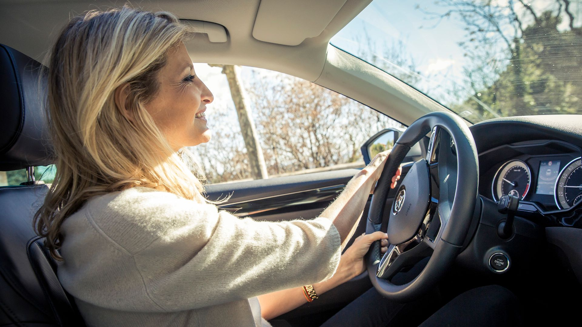 Skoda geofencing tool for young drivers