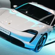 Electric cars at Frankfurt IAA
