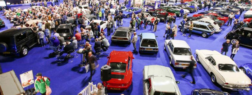 NEC car parking Classic Motor Show