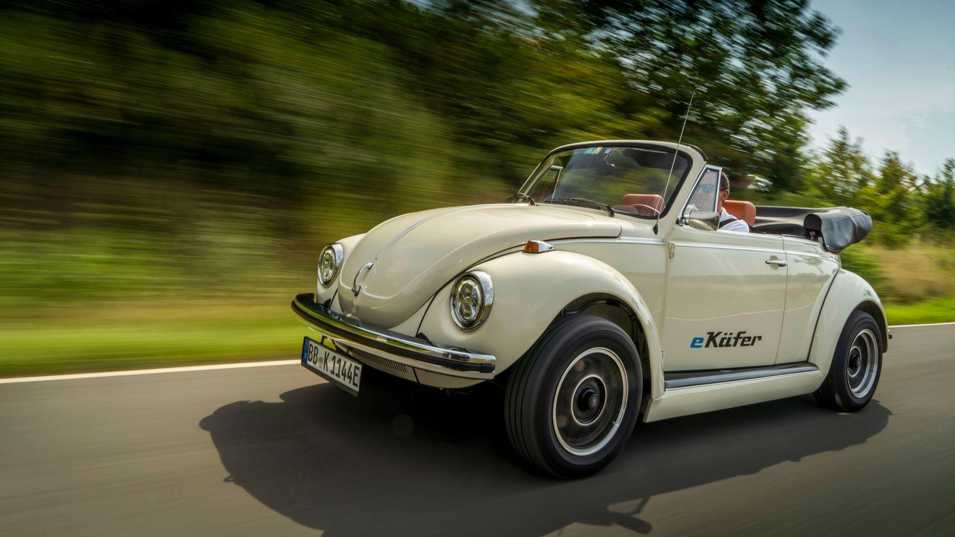 Electric Volkswagen Beetle