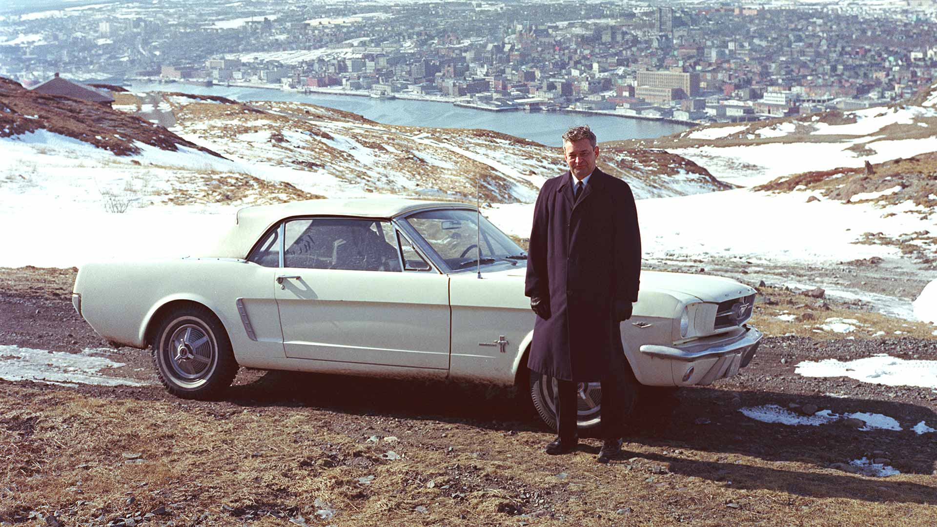 First Ford Mustang in 1965