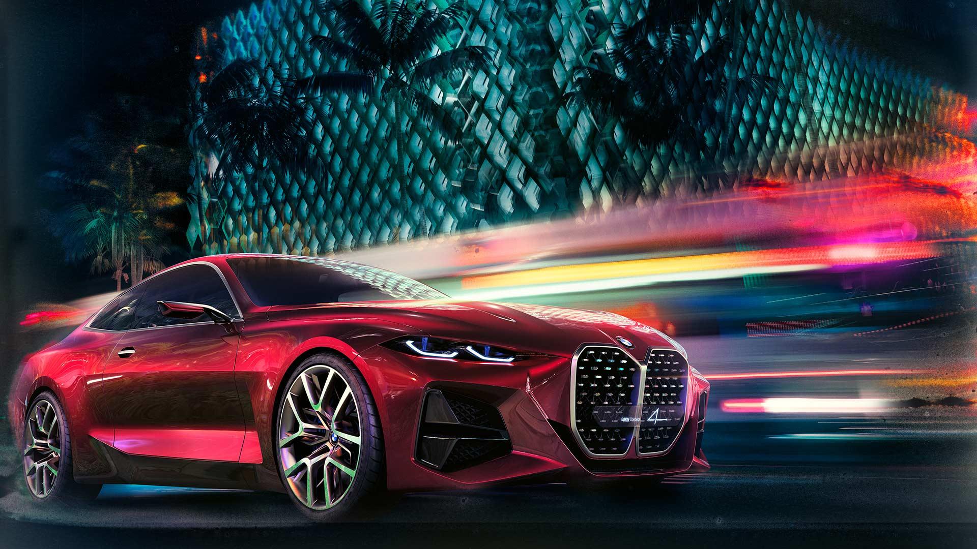 BMW Concept 4 Frankfurt 2019