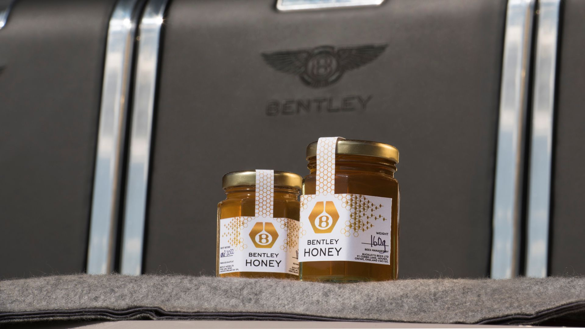 Bentley now makes honey