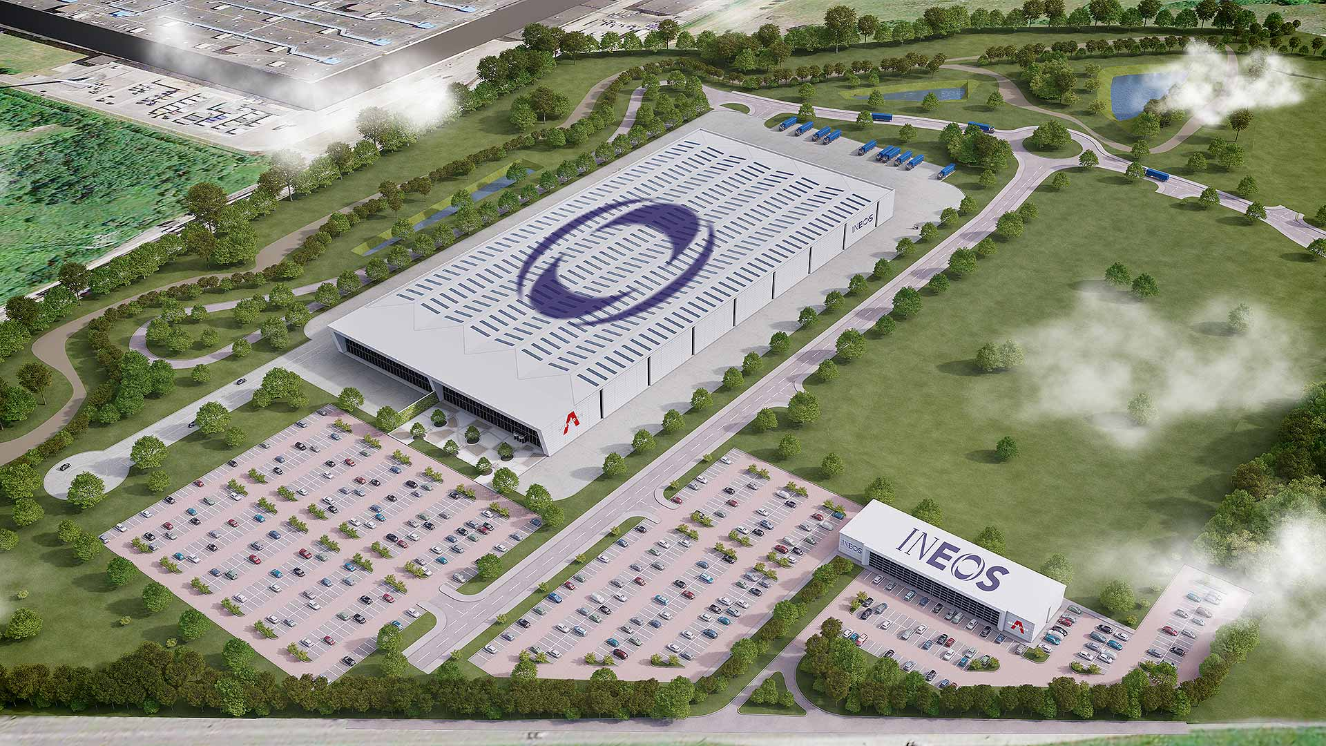 Ineos Automotive Bridgend factory - artist's impression