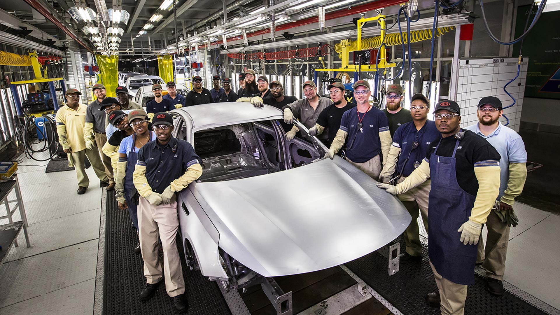 Kia produces 3 millionth vehicle in USA