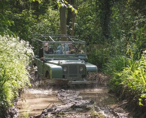 Land Rover Classic 1948 restoration