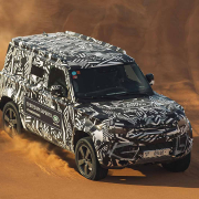 2020 Land Rover Defender disguised in testing