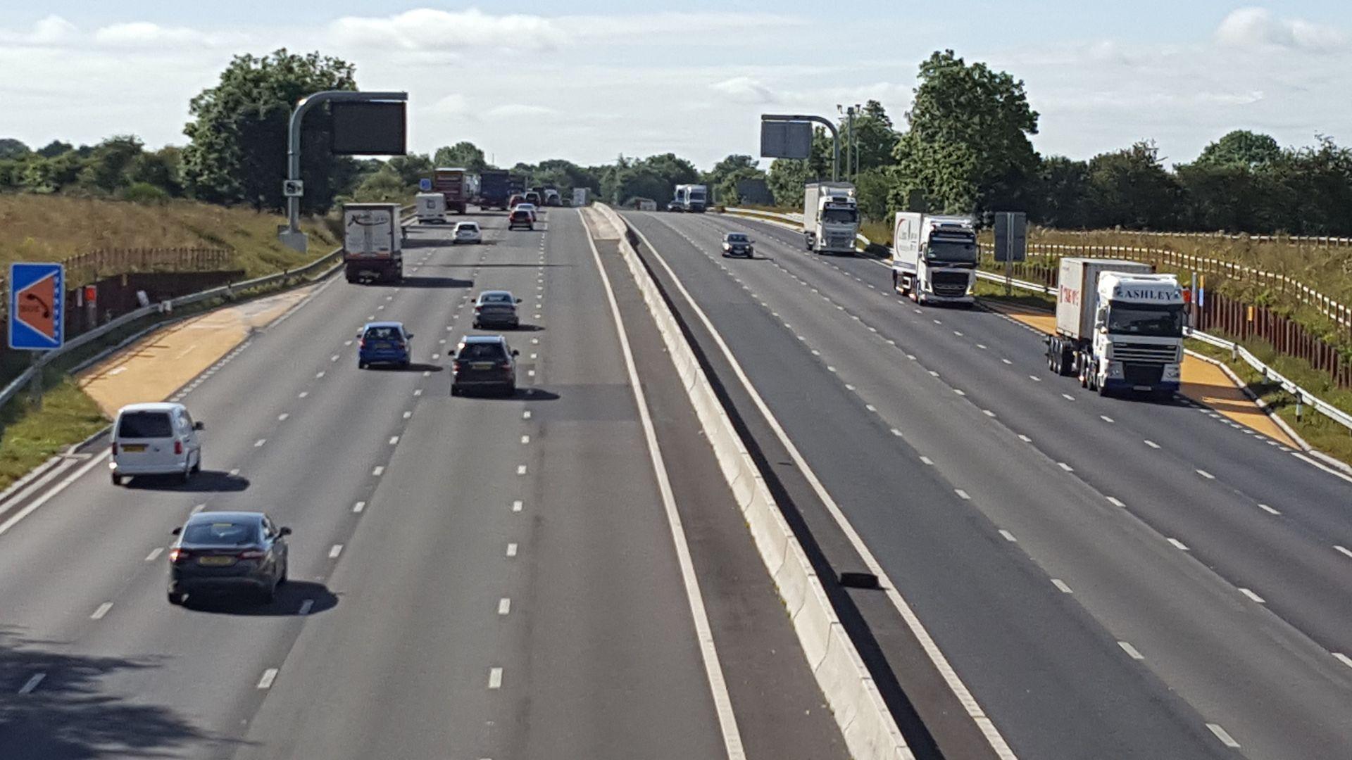 M6 upgrade 30 percent safer says highways england