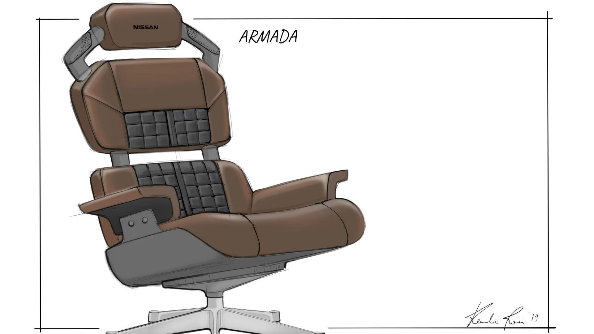 Nissan Armada gaming chair