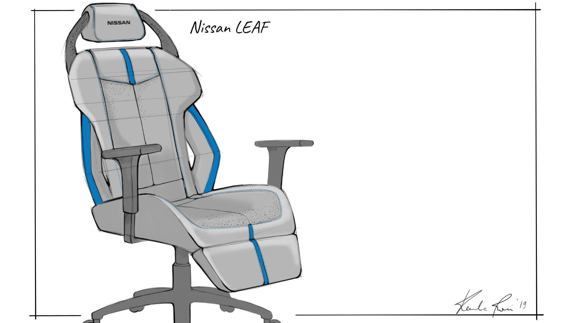 Nissan Leaf gaming chair
