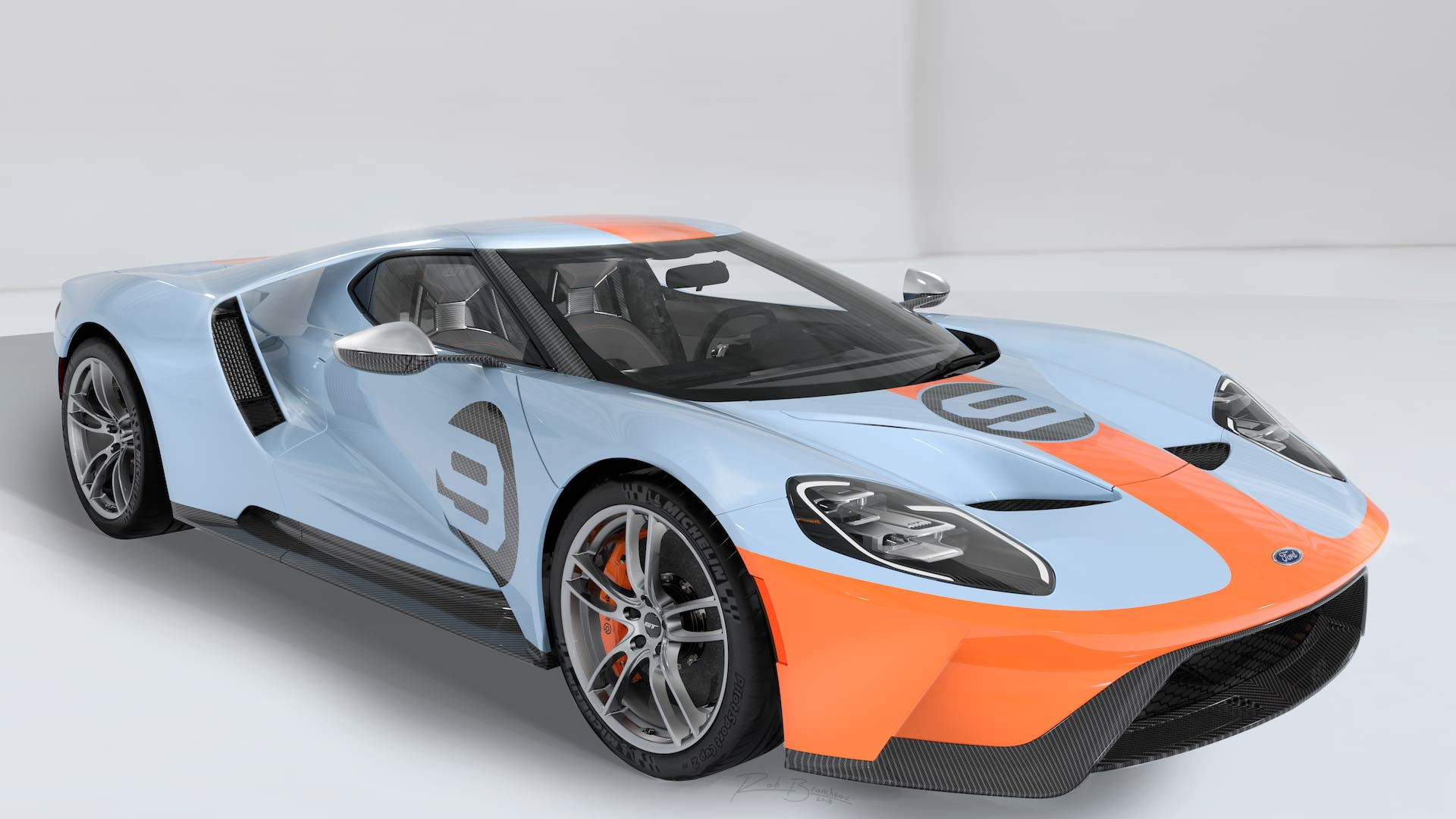Petersen Ford GT Charity Auction