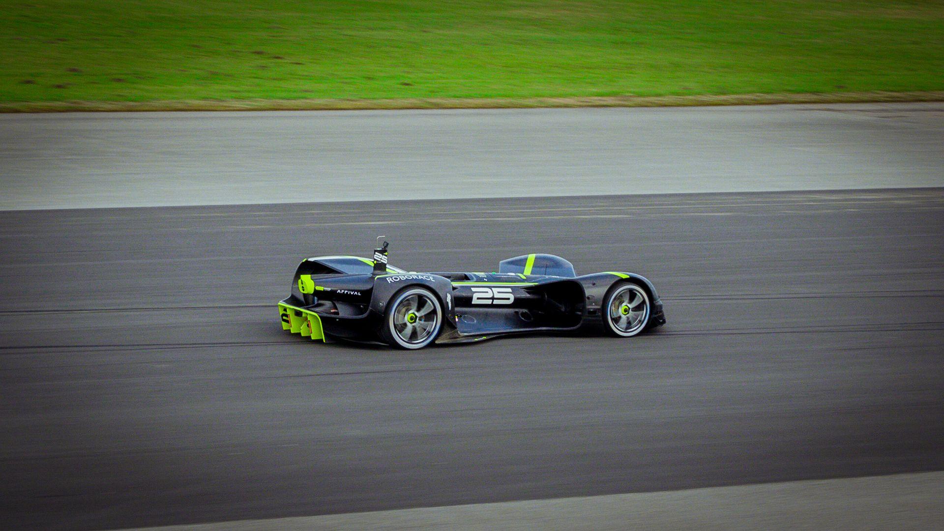 Roborace Robocar is the fastest autonomous vehicle