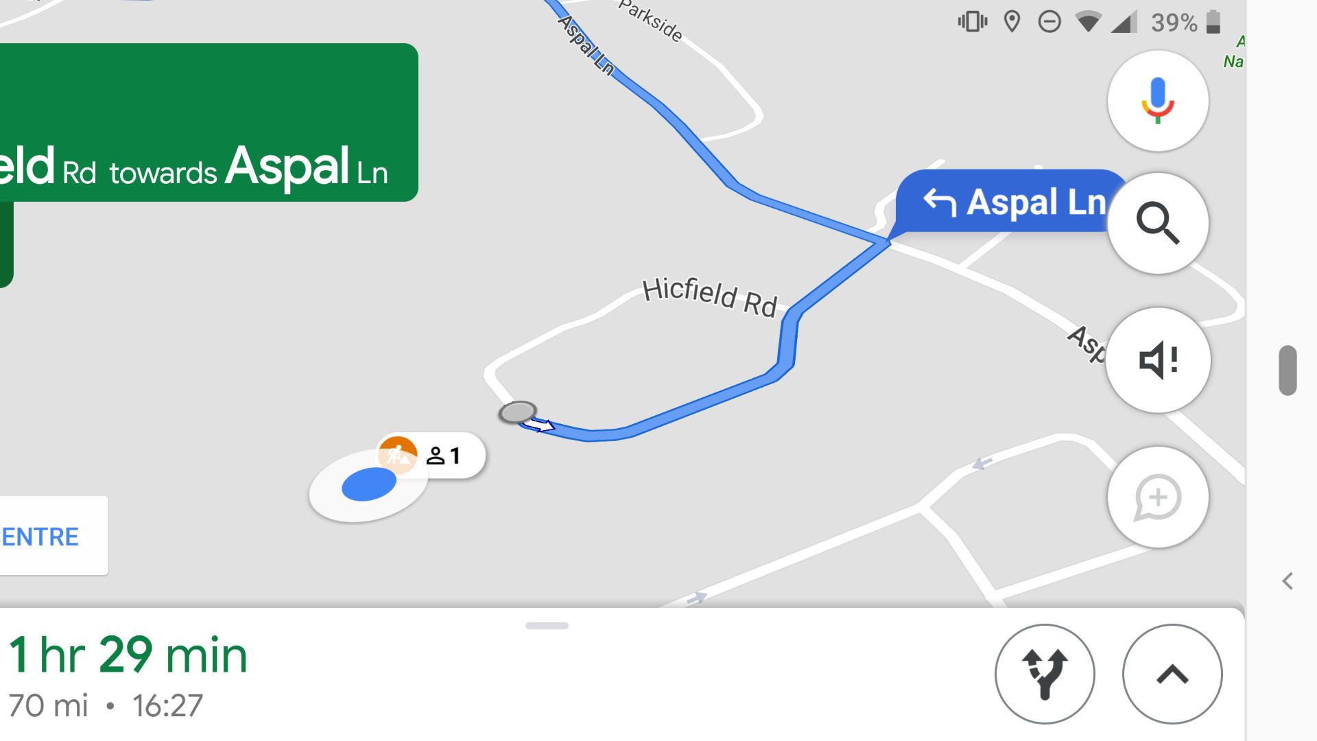 google maps construction