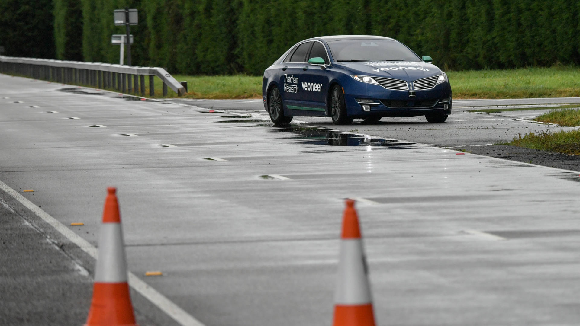 automated driving on track