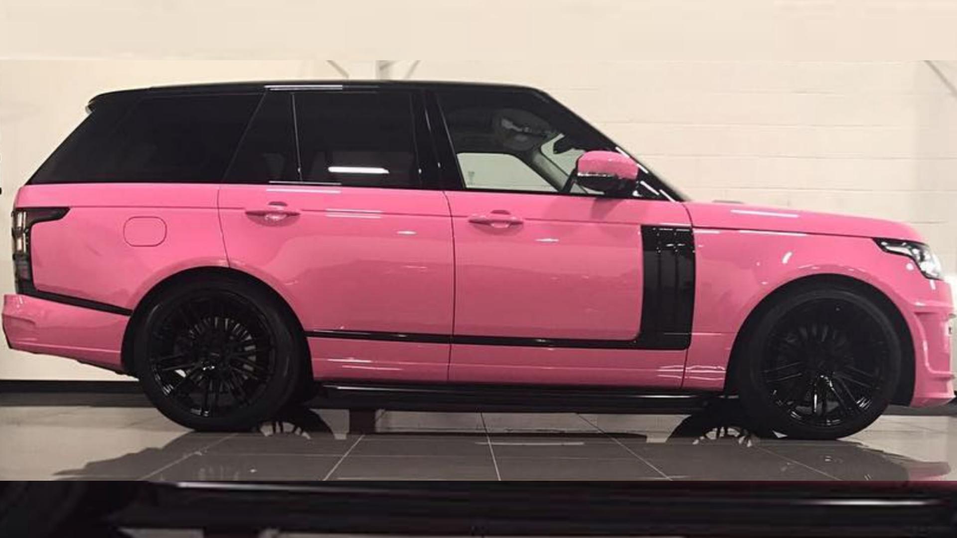 Katie price selling pink cars