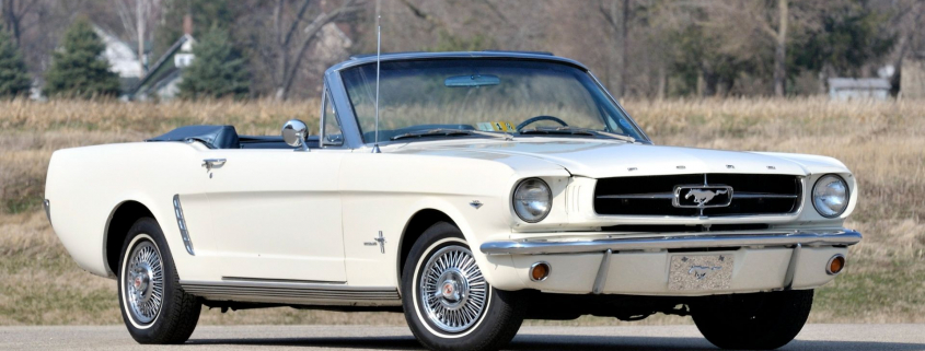 First Mustang sold reunited with salesman