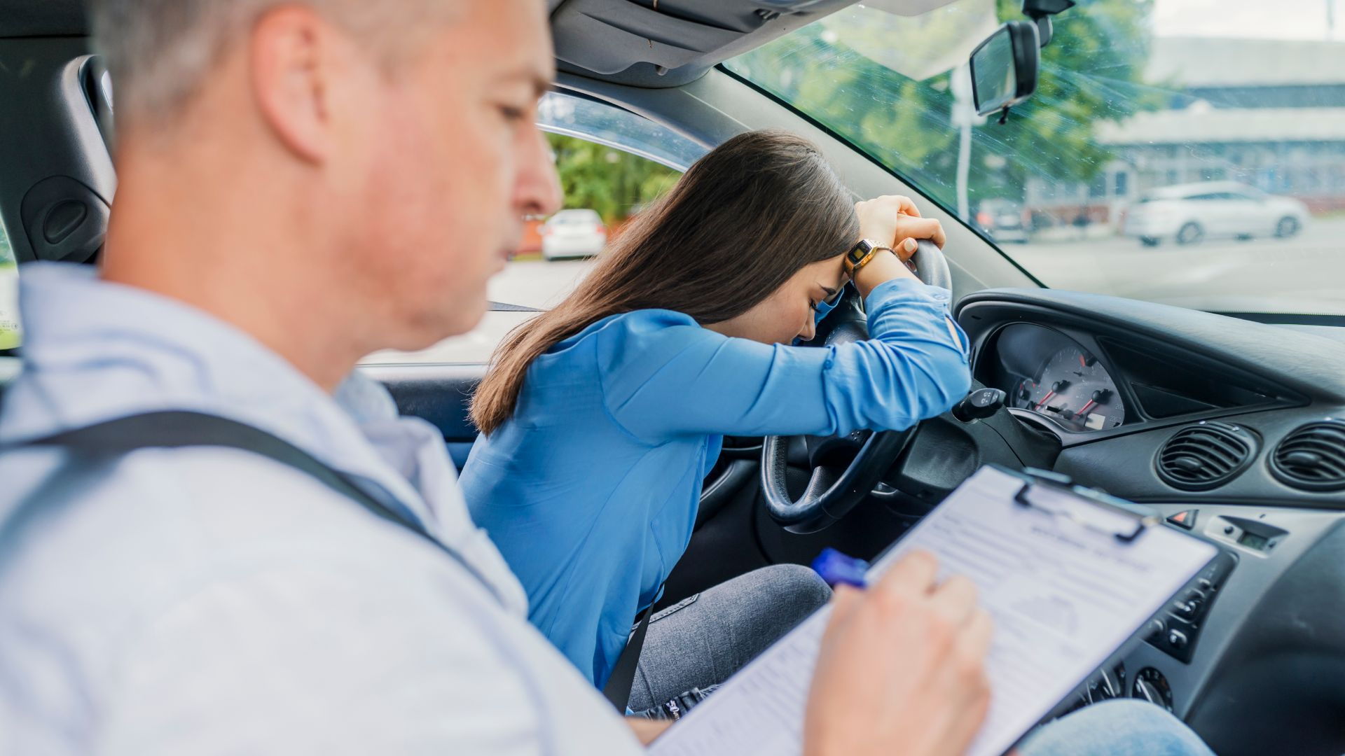 Revealed: the most likely reasons for failing the driving test