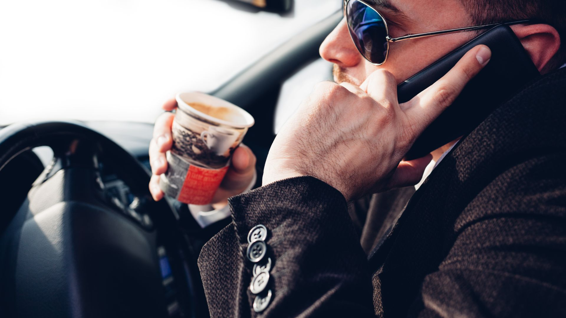 Distractions behind the wheel