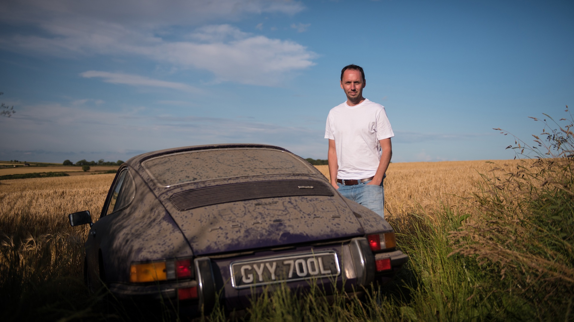 Classic Porsche saved