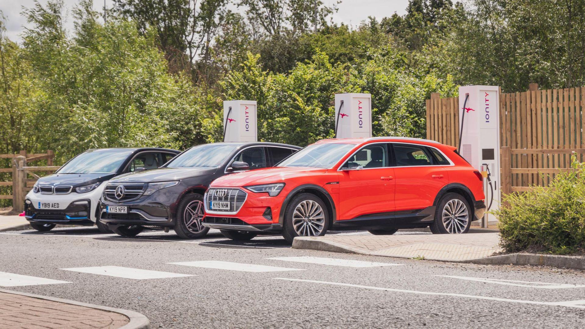 electric car drivers charging habits