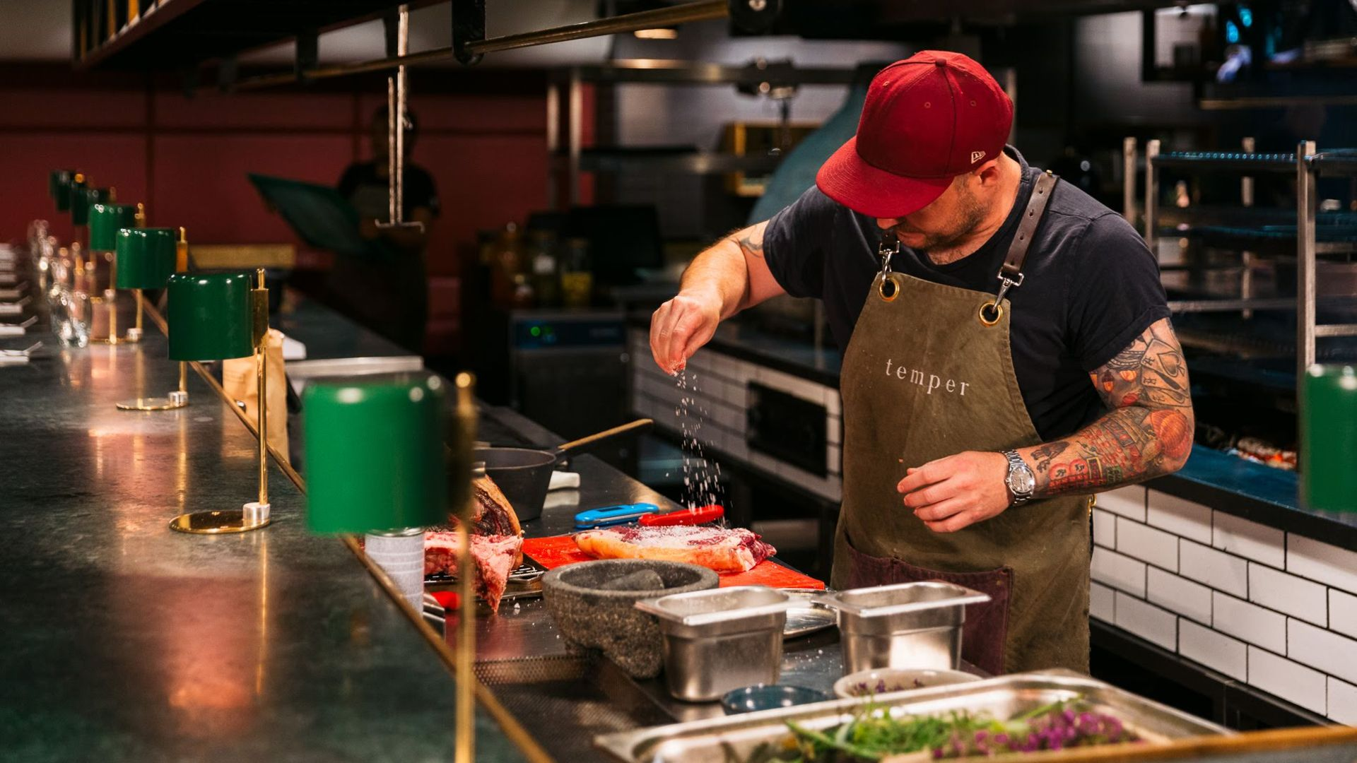 Ford Ranger Raptor chef foraging