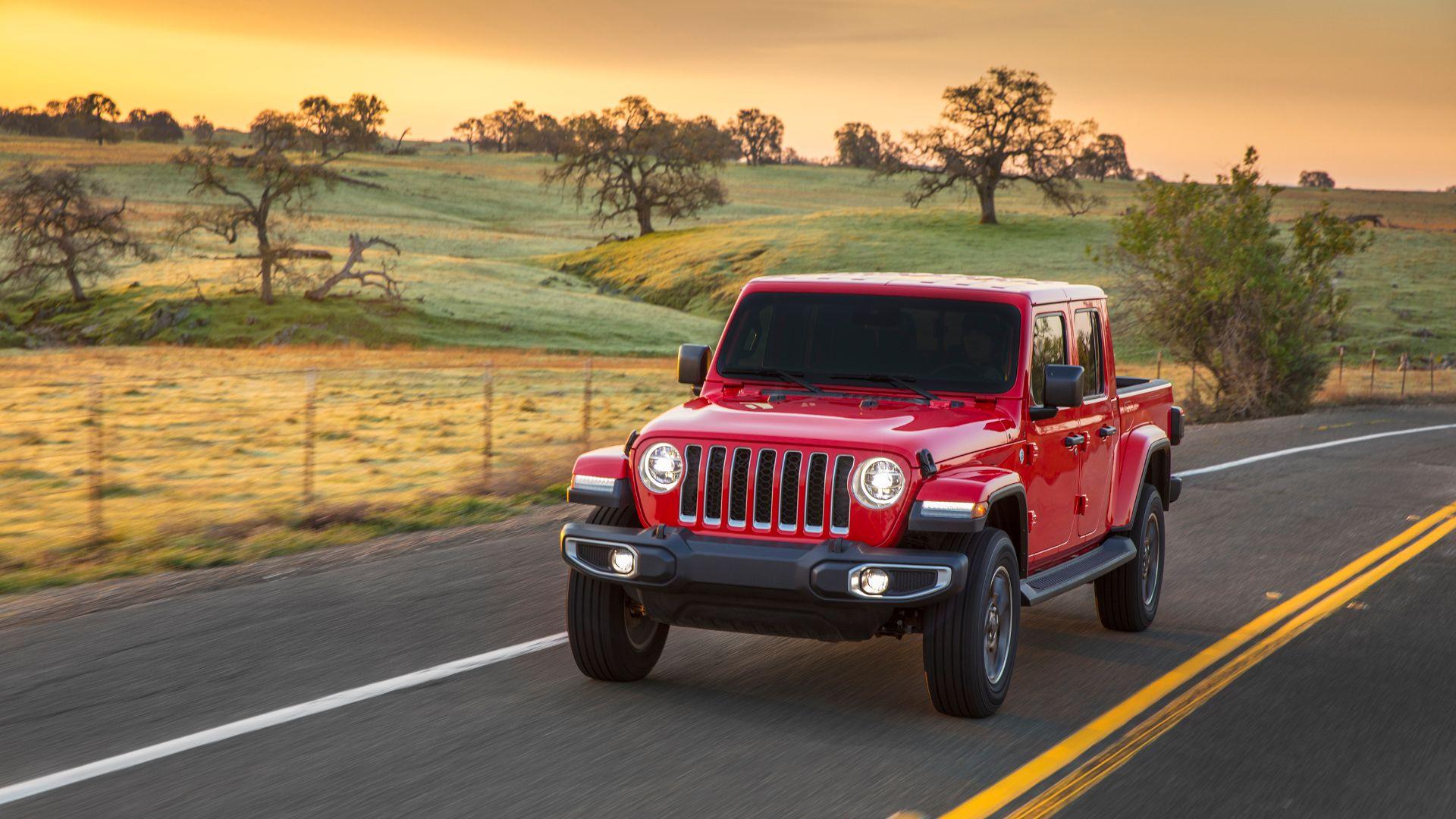 Jeep Gladiator army truck