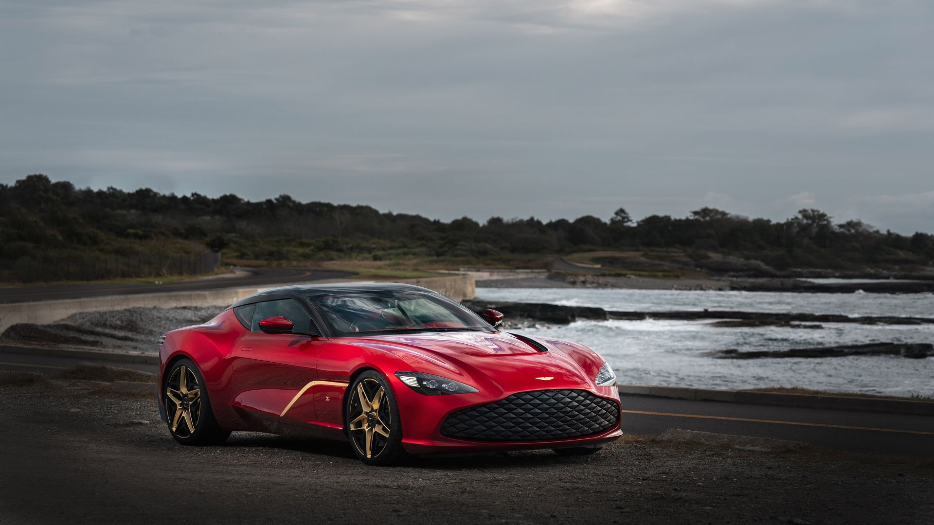 6 Million Aston Martin Dbs Gt Zagato Has The Midas Touch