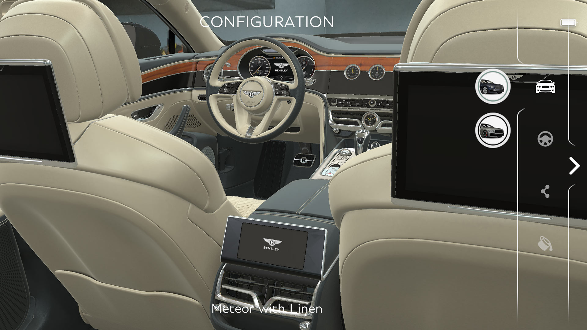Bentley Flying Spur AR App