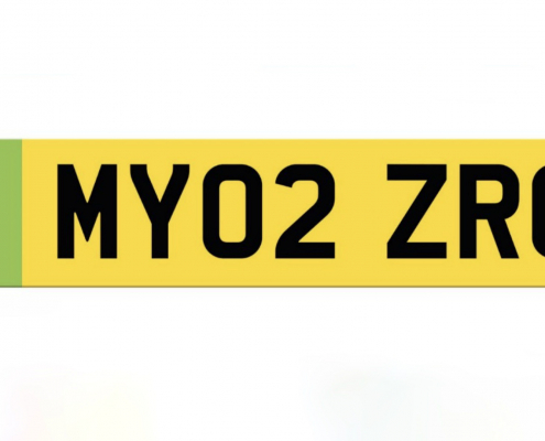 Green number plates opinion