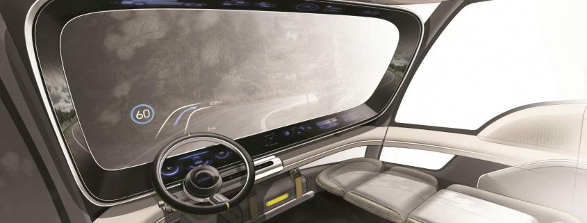 Hyundai hydrogen fuel cell truck concept