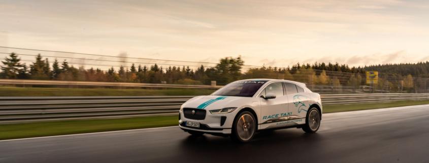 Jaguar Nurburgring taxi