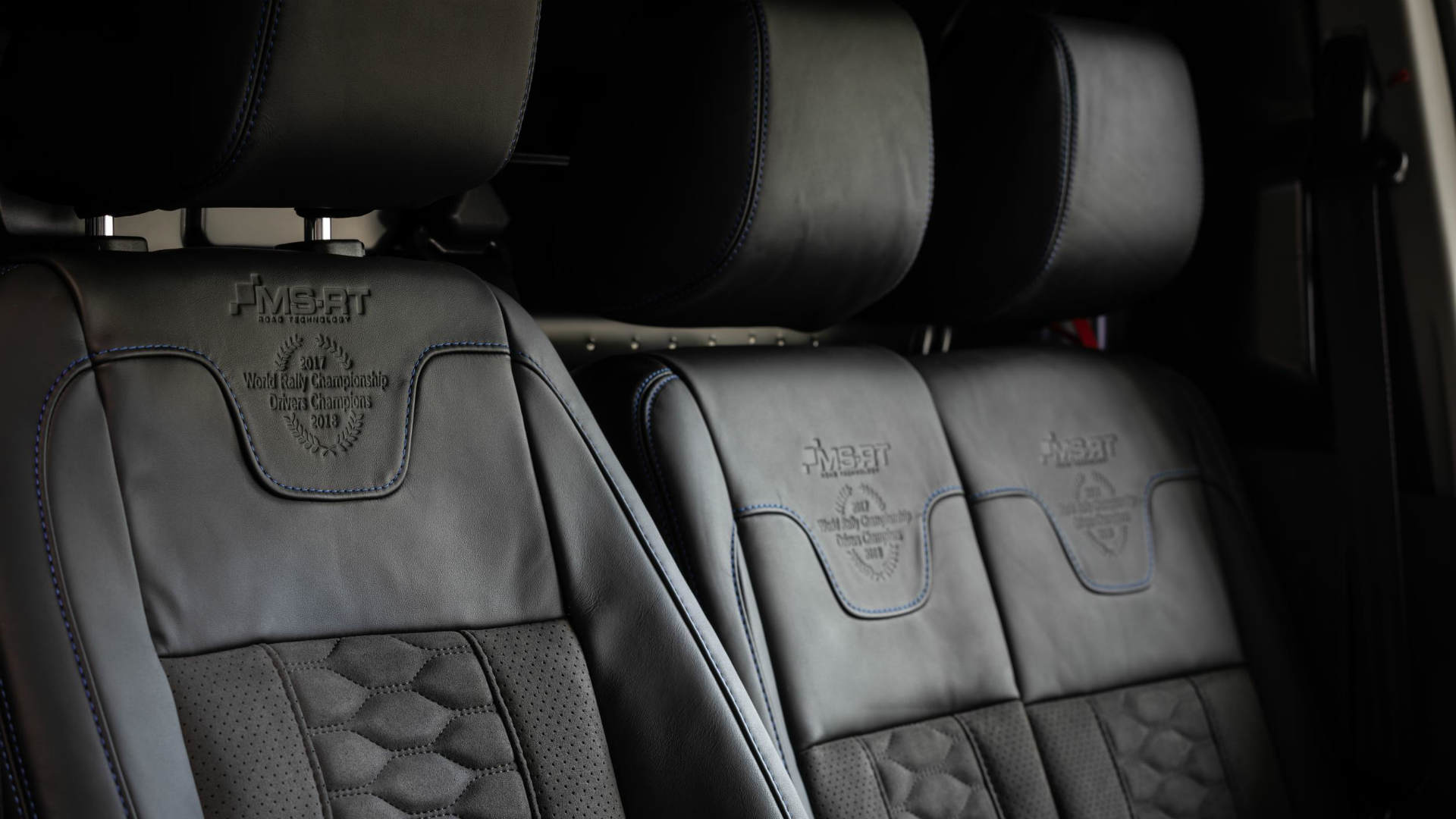 MS-RT Ford Transit Connect leather seats
