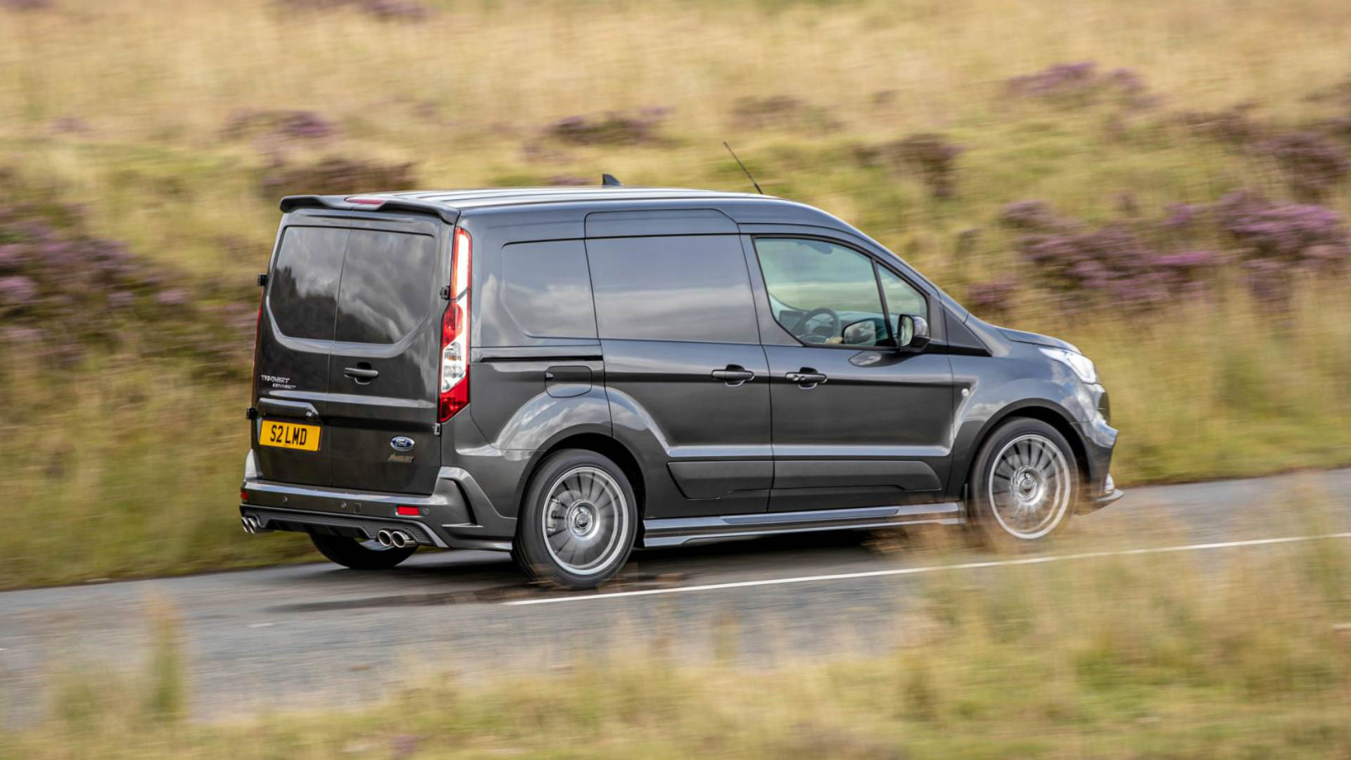 MS-RT Ford Transit Connect road test