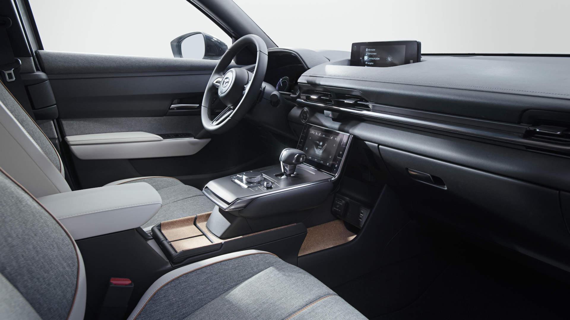 Mazda MX-30 cabin