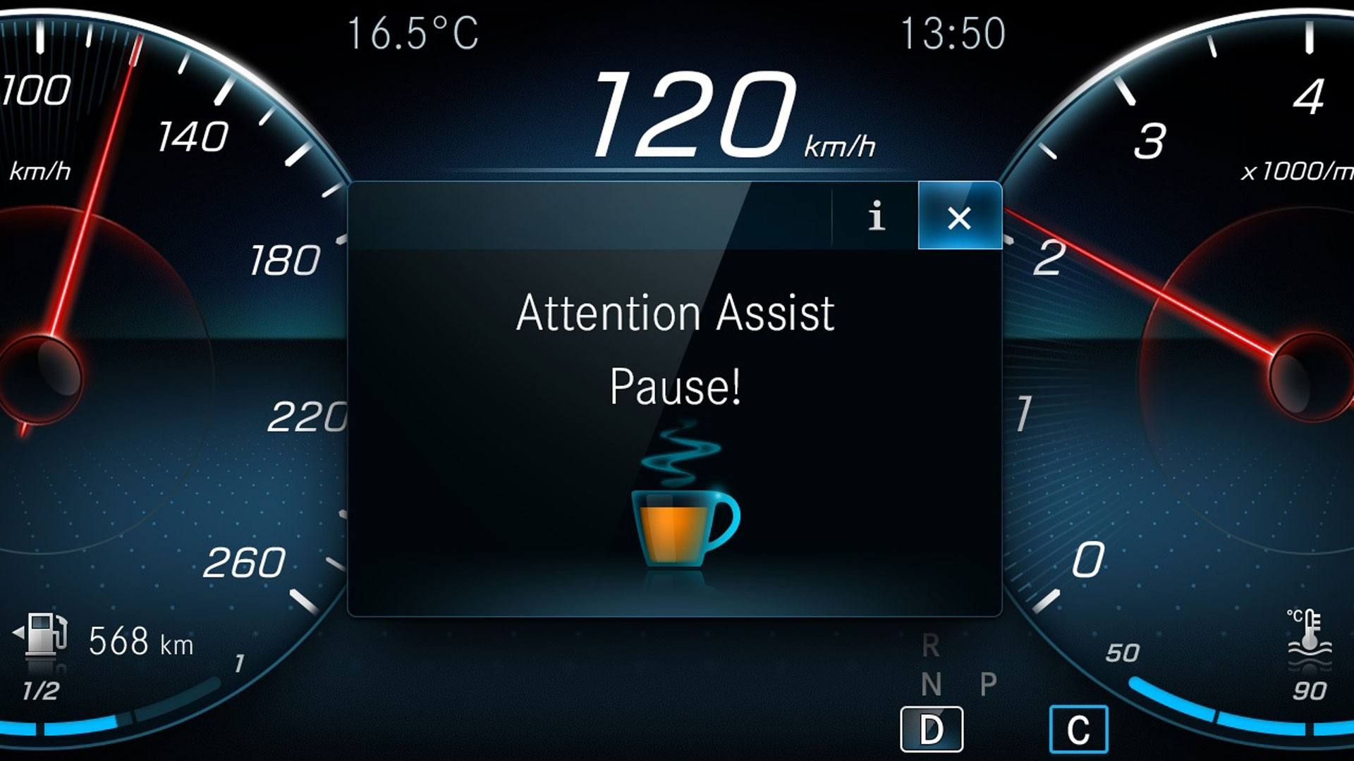 Mercedes Attention Assist
