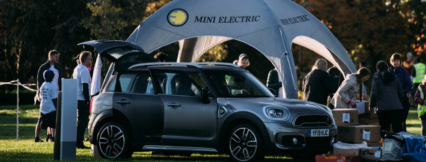 Mini Countryman at Parkrun