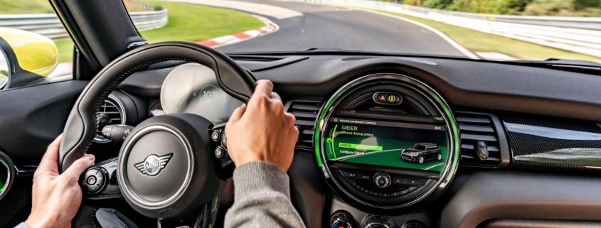 Mini Nurburgring no brakes