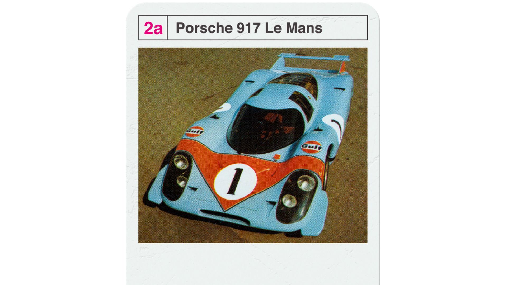 Porsche 917 Top Trumps