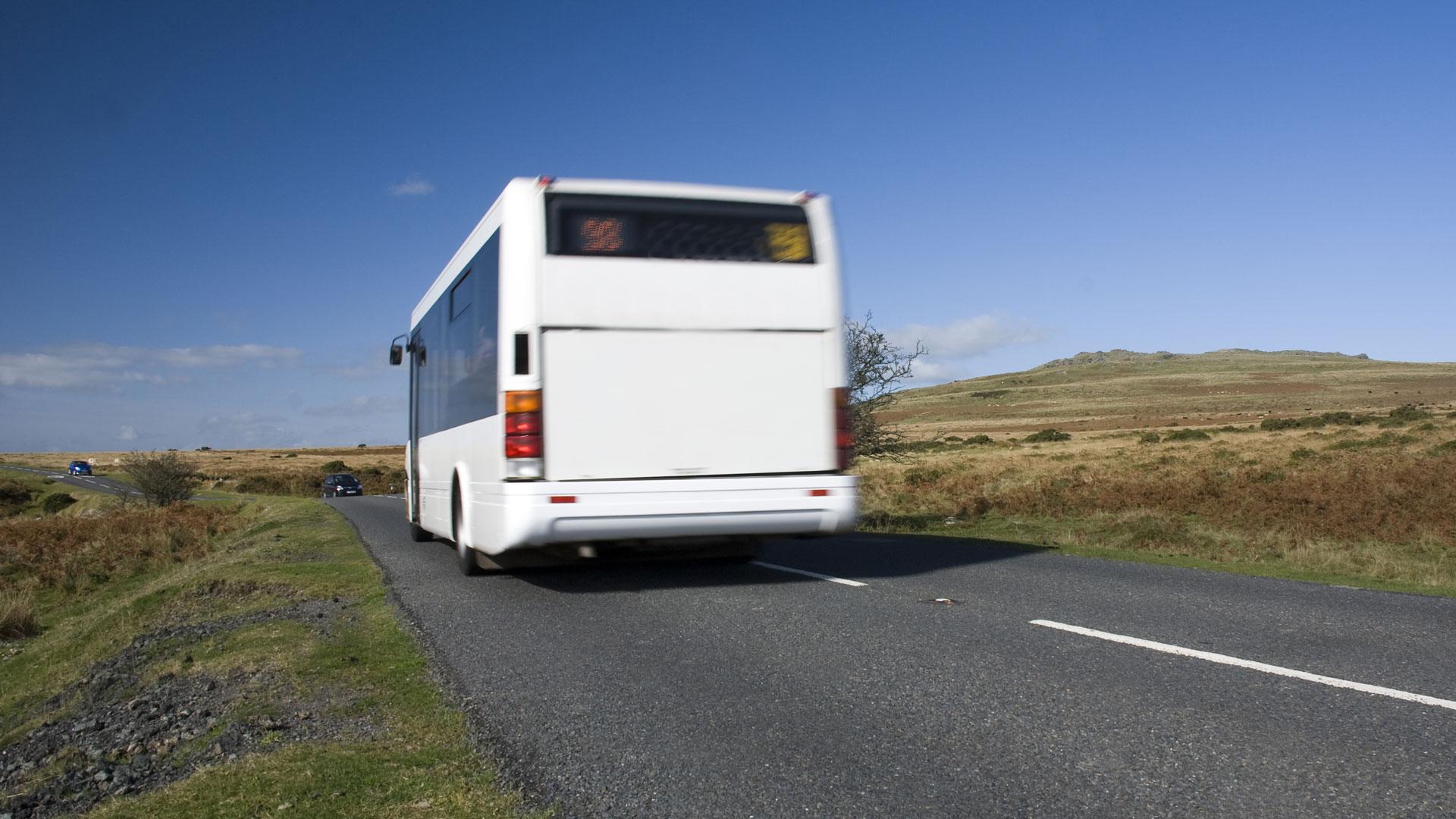 Rural bus service Dartmoor