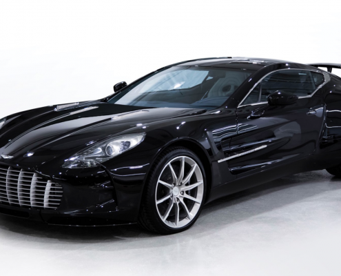 Aston Martin One-77 charity sale