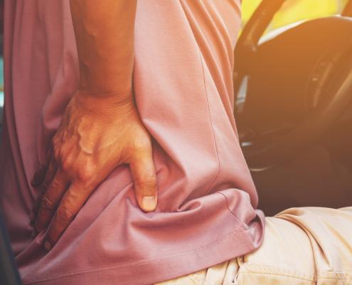 Uncomfortable car seats
