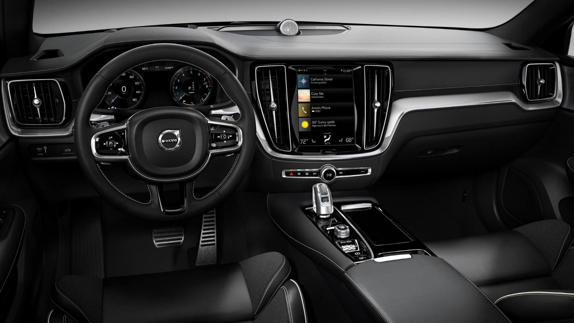 Volvo S60 Polestar Engineered interior