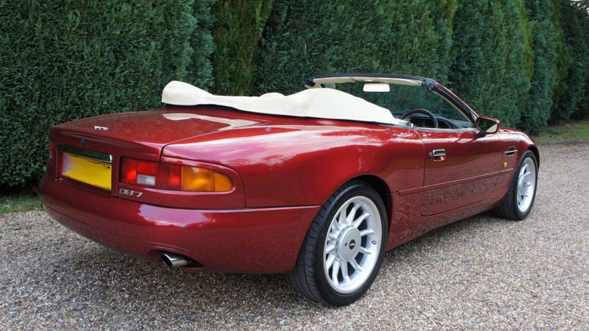 Elton John Aston Martin DB7