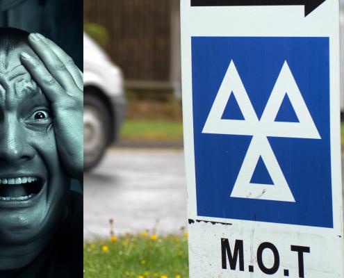 halloween horror MOT finds