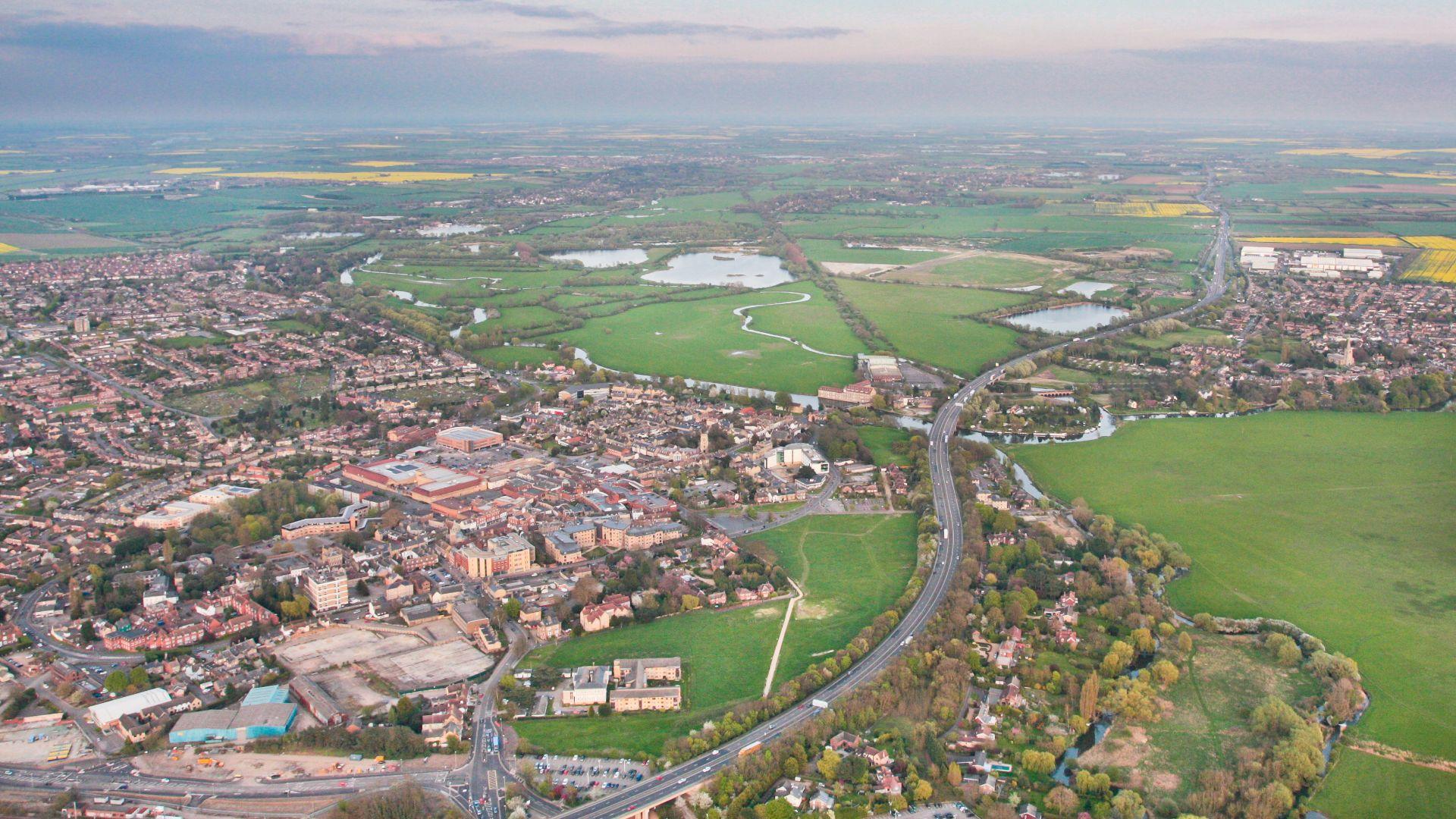 A14 upgrade Huntingdon Cambridge