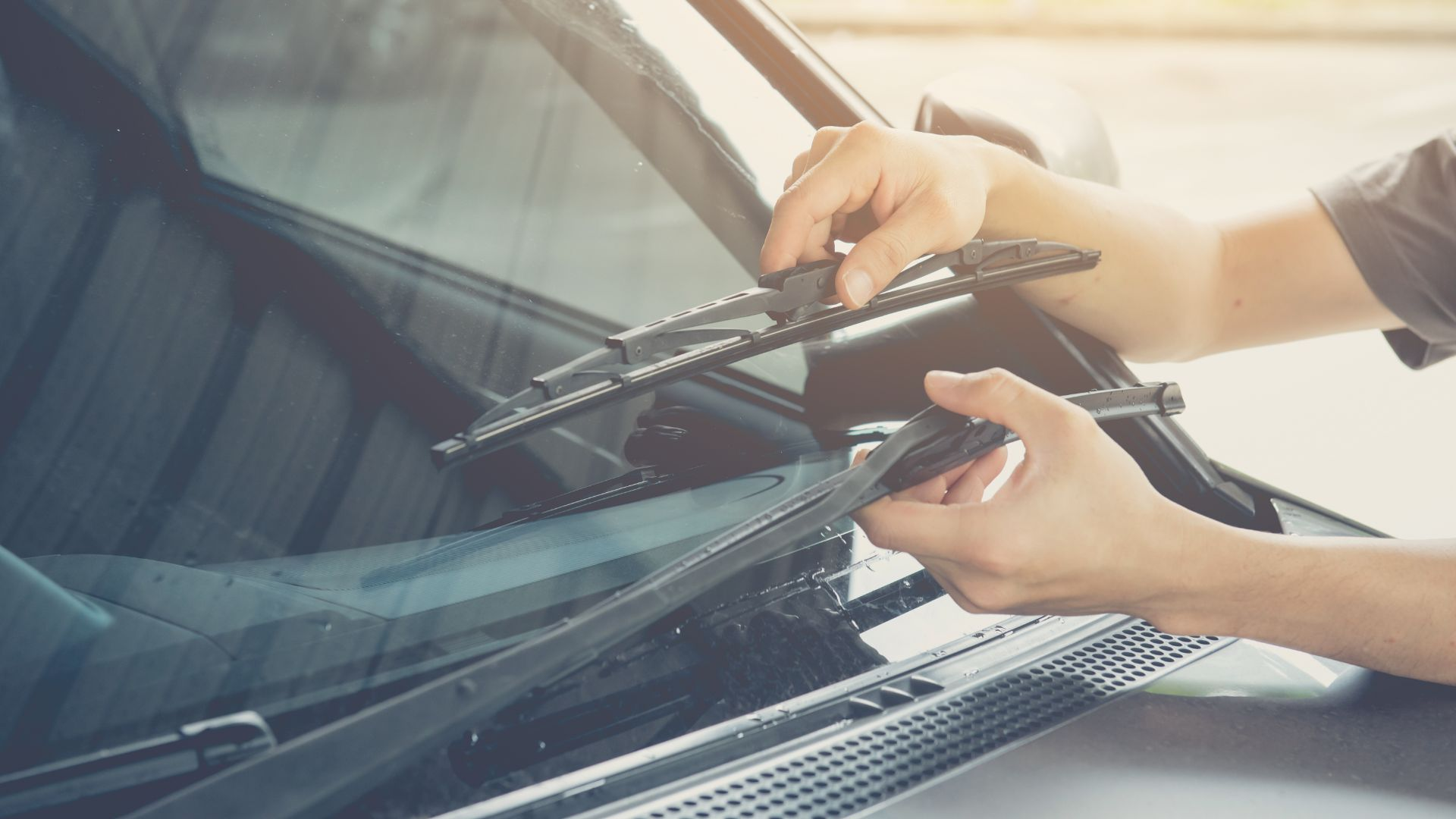 Faulty wiper blades