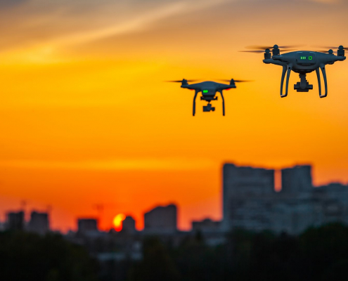 Highways England uses drones